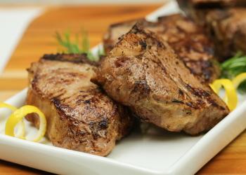 Lemon Herb Lamb Chops Recipe