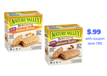 Nature Valley Breakfast Biscuits Just $.99 With Coupon and Sale