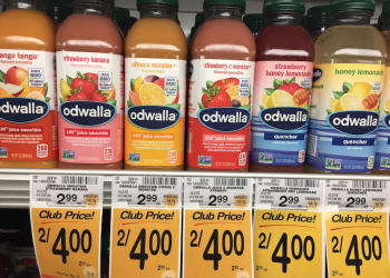 Odwalla Juices and Smoothies Just $1.25 each at Safeway With Coupon