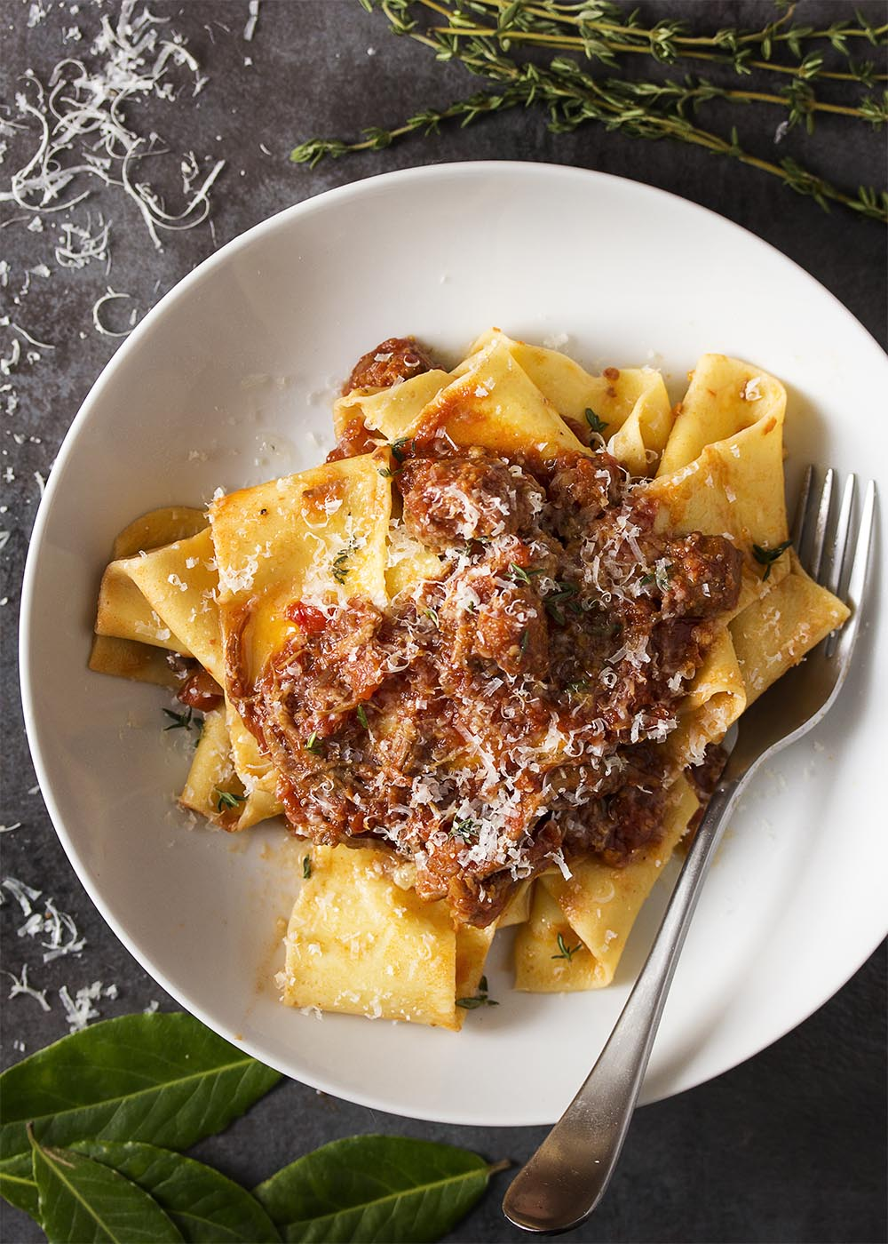 pork shoulder ragu