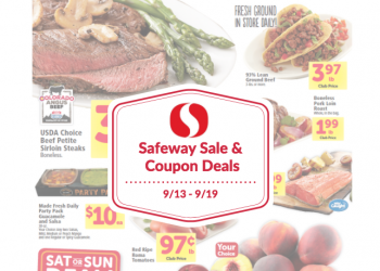 Safeway Sale and Coupon Deals 9/13 – 9/19
