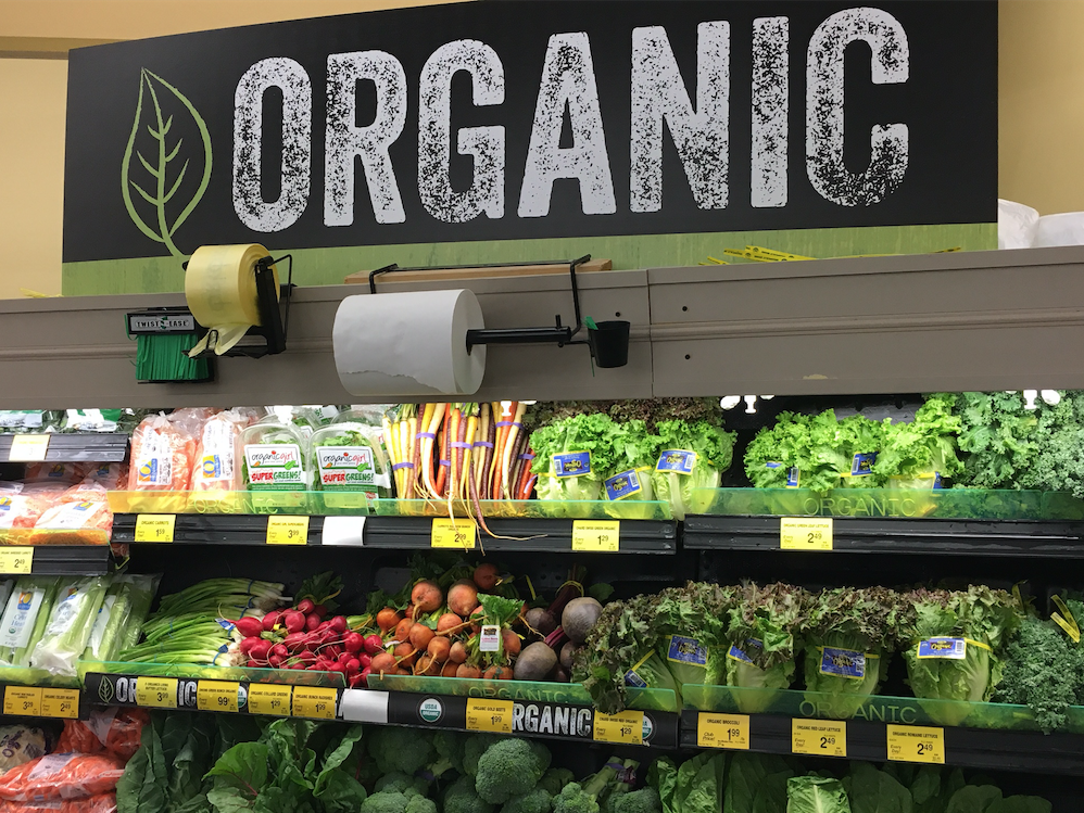 saving on organic food