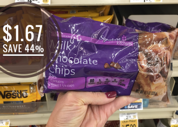 Safeway's Signature Kitchens Chocolate Chips Just $1.67