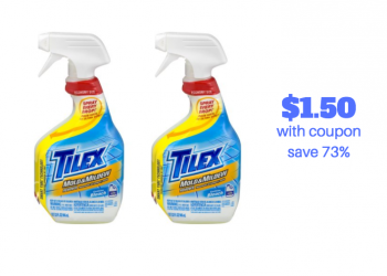 New $1.00 off Tilex Coupon and Sale – Pay just $1.50, Save $3.99 or 73%