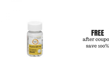 FREE Signature Care Aspirin at Safeway With the NEW Coupon and Sale