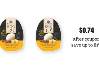 Crystal Farms Ready Egg Go! Deal – Pay as Low as $0.74, Save Up To 81%