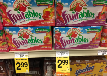 Apple & Eve Fruitables For as Low as $1.99, Save Up to 59%