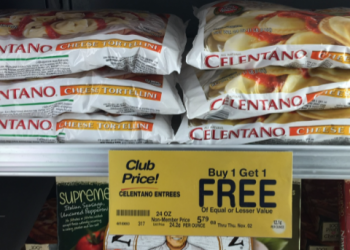 Celentano Pasta – Pay as Low as $2.40, Save Up to 59%