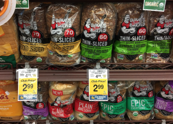 Dave's Killer Bread Just $2.99 at Safeway – Great Price for Organic Bread