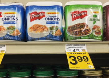 French's Crispy Fried Jalapenos For as Low as $2.39 or Onions $3.39