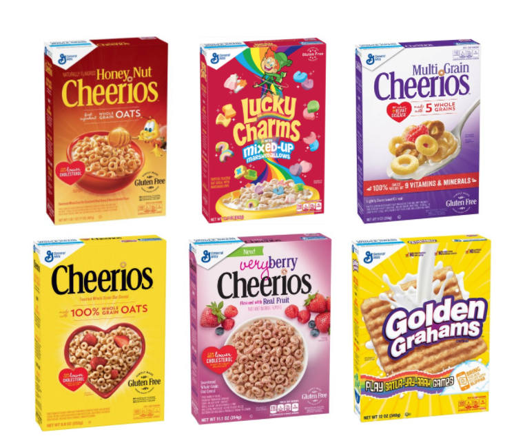 General Mills Cereal Coupons And Sale