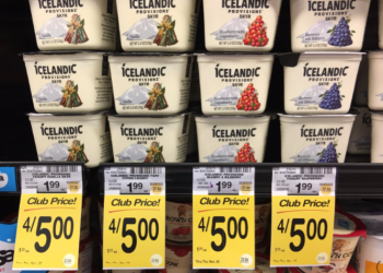 Icelandic Provisions Skyr for Just $0.25