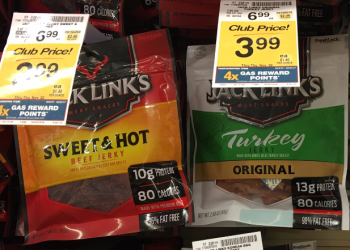Jack Link's Jerky for $2.99