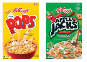 Kellogg's Cereal Coupons, Pay as Low as $0.67