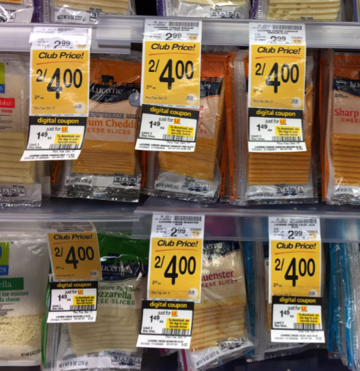 Lucerne Cheese Coupon