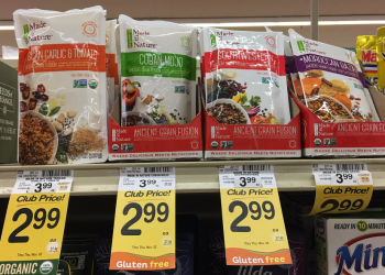 Made in Nature Coupon, Pay $1.50 for Ancient Grain Fusion – Organic & Gluten Free