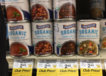 Progresso Organic Soup Coupons, Only $1.00