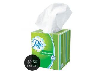 Puffs Tissue Coupons & Sale at Safeway – Pay as Low as $0.50