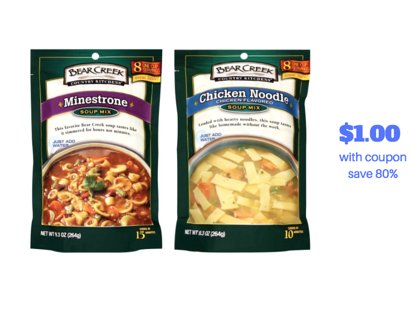bear creek soup mix