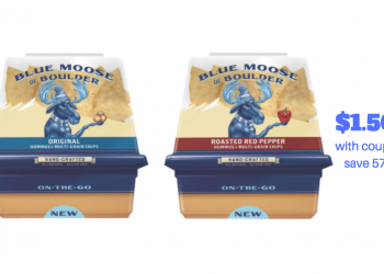 Blue Moose Hummus On The Go Just $1.50 With Coupon, Reg. $3.50