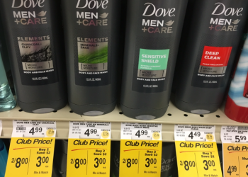 Dove Men+Care Body Wash $2.00 and Hair Care $2.49 With Coupons