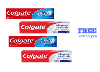 FREE Colgate Toothpaste With Coupon