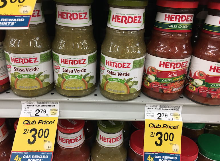 herdez salsa sale