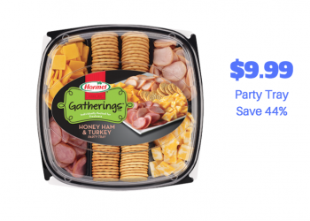 Hormel Gatherings Party Trays Just $9.99 With Sale and Coupon (Reg. $17.99)