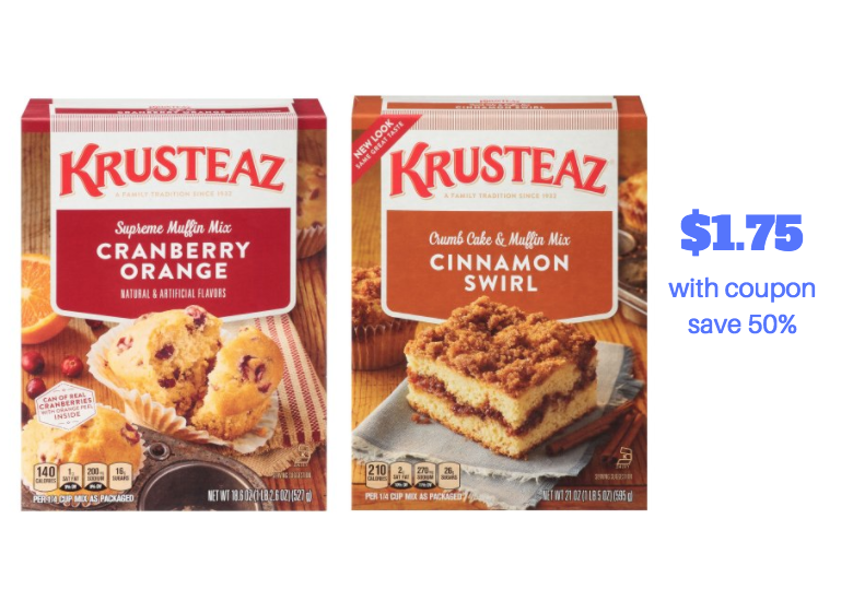 krusteaz coupons