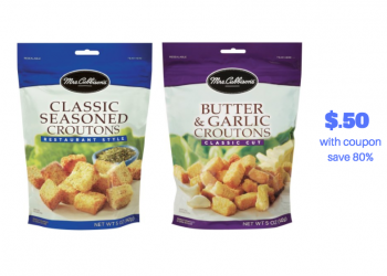 Mrs. Cubbisons Croutons Just $.50 With Coupons and Sale