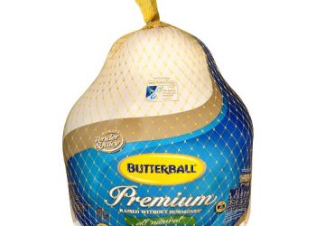 Butterball Turkey Sale – Bacon $0.25 and Whole Turkeys for $0.99 Lb.