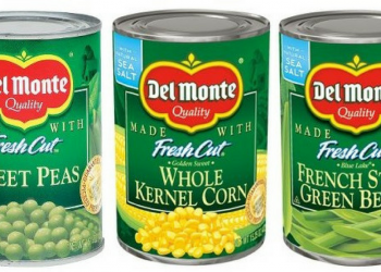 Del Monte Coupon, Pay as Low as $0.50 for Canned Vegetables