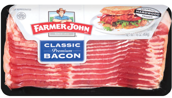 Farmer John Bacon for $2.99