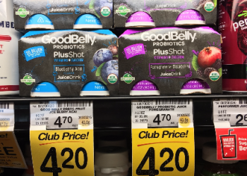 GoodBelly Probiotics Coupon, Pay as Low as $1.95 Each