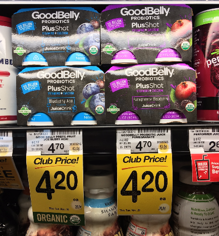 GoodBelly Probiotics Coupon