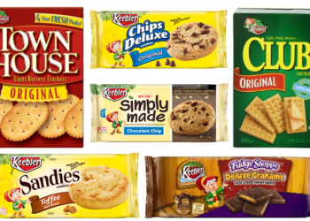 Keebler Coupons, Pay as Low as $1.00 for Crackers or Cookies