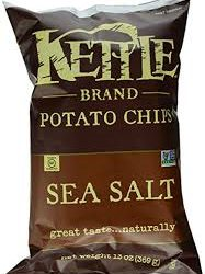 Kettle Brand Chips Coupon, Pay $1.38