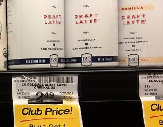 La Colombe Draft Latte Drinks – Buy 1, Get 1 FREE