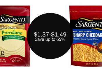 Sargento Coupons, Pay as Low as $1.37 for Cheese