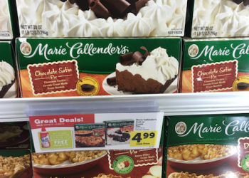 Free Reddi Wip Whipped Cream and $3.99 Marie Callender's Pies at Safeway