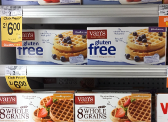 Van's Coupon, Pay as Low as $1.74 for Waffles