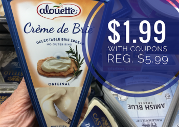 Hot BOGO Free Alouette Cheese Sale and Coupons – Get Brie for $1.99