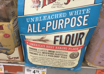 Bob's Red Mill All Purpose Flour Just $1.59 With Coupons (Reg. $4.79)