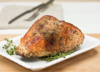Dry Brined Turkey Breast