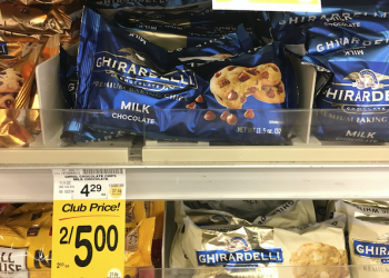 Ghirardelli Chocolate Chips on Sale – Pay just $2.50