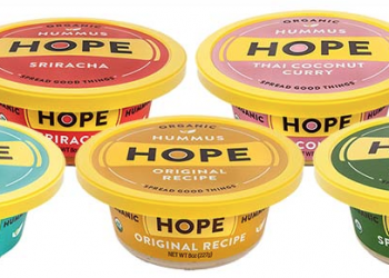Hope Foods Hummus and Guacamole Coupon – Pay just $1.99,  Save 50%