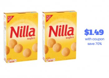 Hot Nabisco Nilla Wafers Sale – Pay Just $1.49 With Coupon (Reg. $4.99)