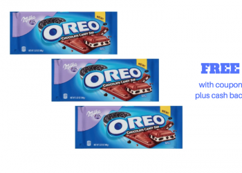 3 FREE OREO Chocolate Candy Bars Plus Cash Back at Safeway