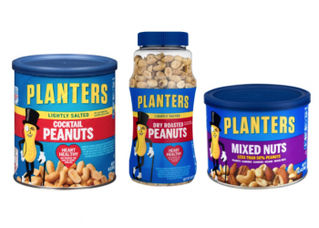 New Planters Nuts Coupon – Pay Just $3.49 for Mixed Nuts and $2.49 for Peanuts