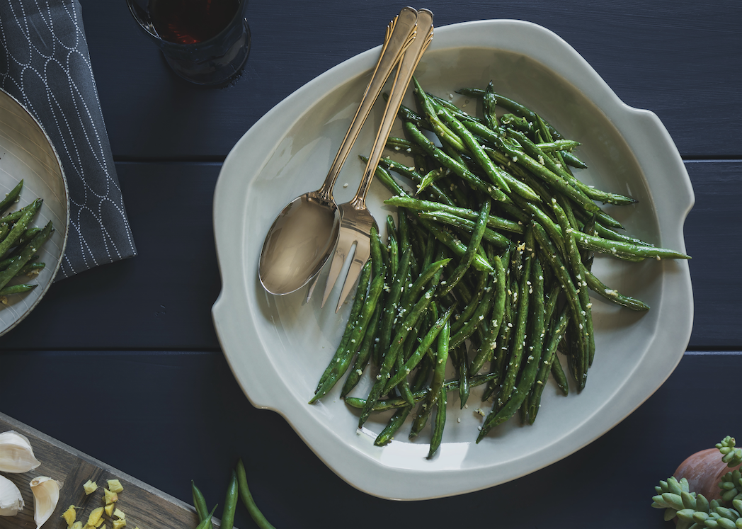 Roasted Ginger Green Beans Recipe - Super Safeway